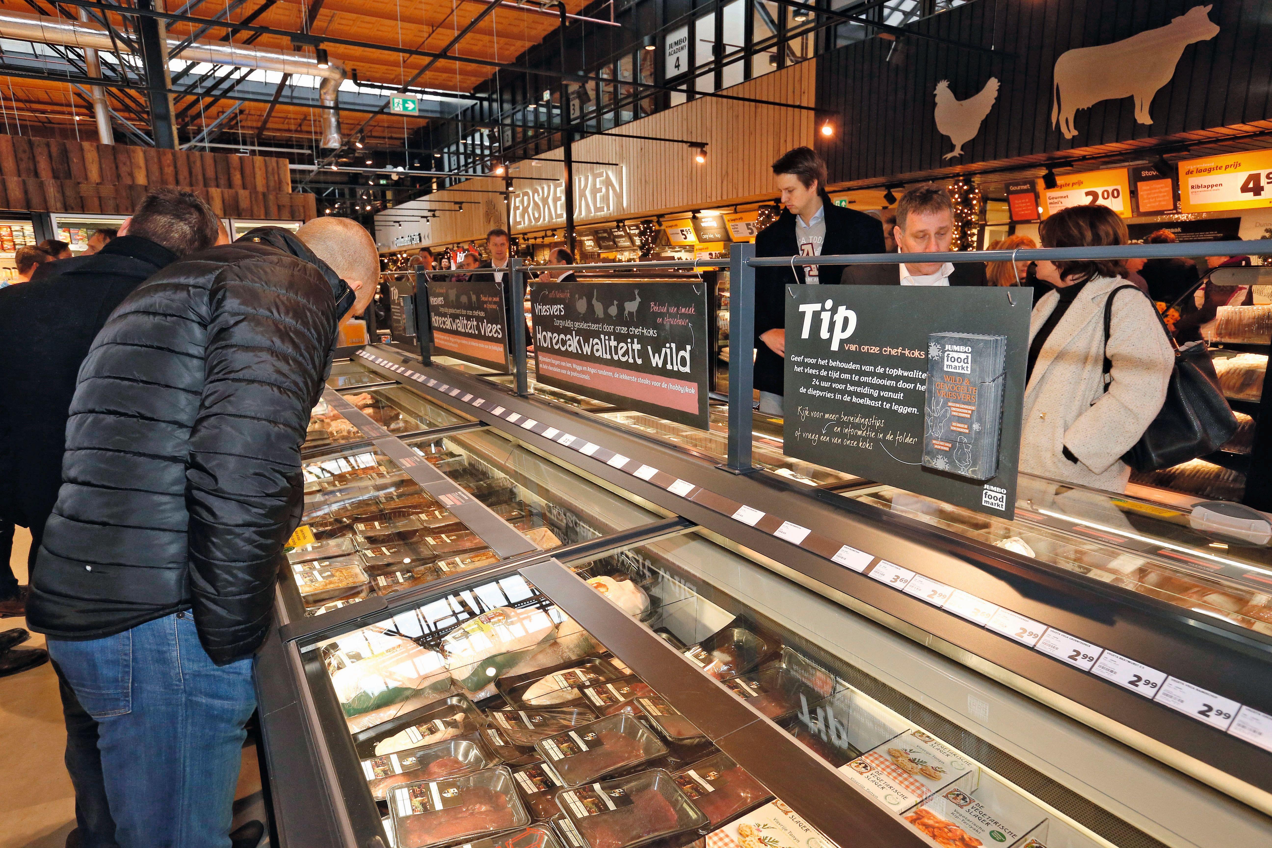 De Jumbo Foodmarkt wordt door gasten hoog gewaardeerd op het gebied van zowel experience als gemak, zo blijkt uit onderzoek. Foto: Bert Jansen
