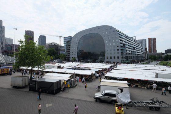 Markthal meer foodcourt dan een versparadijs