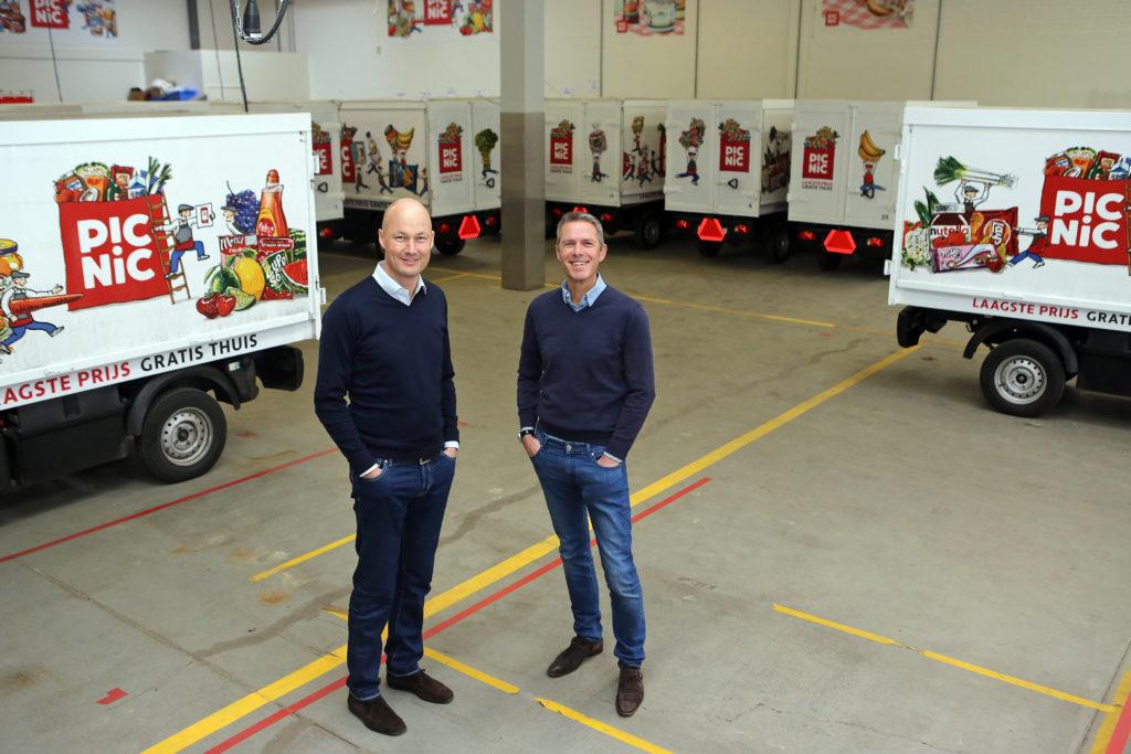 Michiel Muller (rechts) Foto: Ton Kastermans