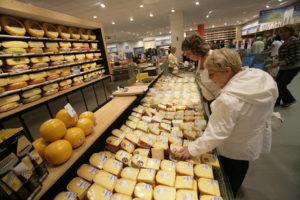 Kaas: merkpresentie maakt kaasmandjes voller