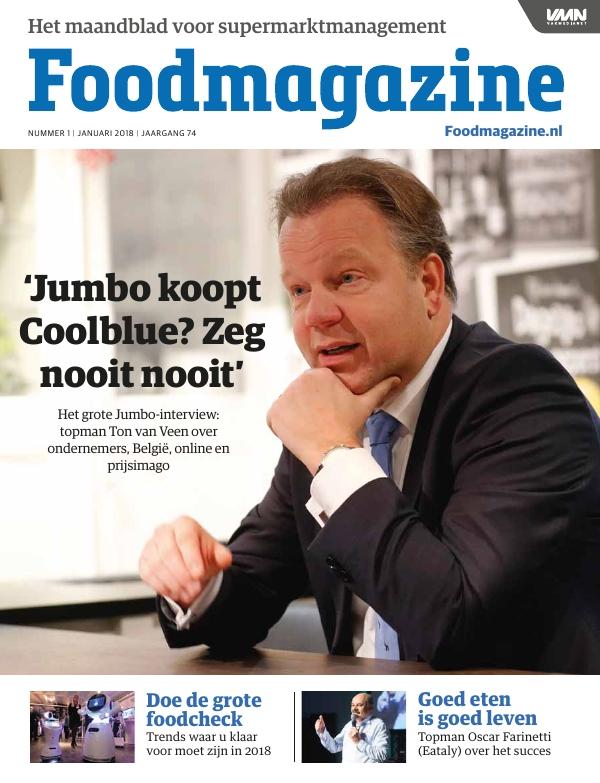 Foodmagazine nummer 1 2018